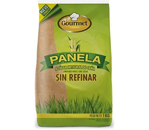 Gourmet Latino - Panela ( Azúcar integral de Cañar - Sin Refinar) 100% Natural - 1 Kg