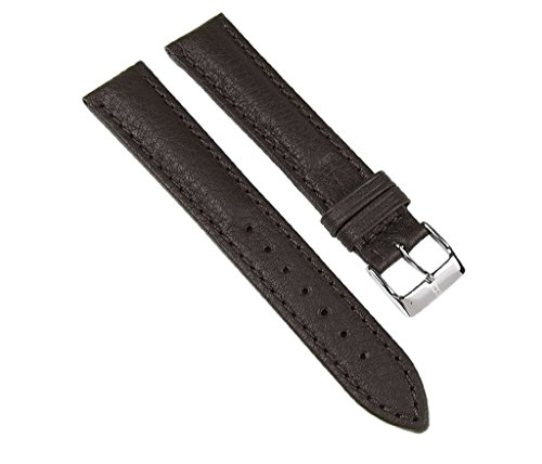 Barington Ersatzband Uhrenarmband Leder Imperator Waterproof Dunkelbraun 18mm 57961827