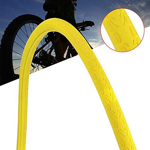 ulofpc 26 Zoll Schlauchreifen Mehrere Farben Fixie Fahrradreifen Fahrradreifen Zubehör