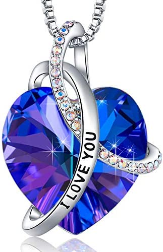 EleShow Gifts for Wife from Husband I Love You Heart Necklaces for Women Valentine s Day for product image
