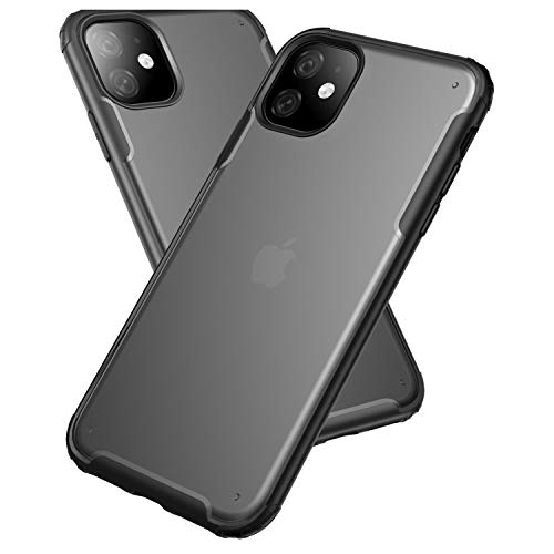 ORIbox Case for iPhone 11, Shockproof and Anti-Drop Protection Case Designed for iPhone 11 (6.1 inch), Excellent Grip, Armor Black