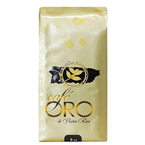 Cafe Oro de Puerto Rico - Puerto Rican Ground Coffee - 8 oz Bag
