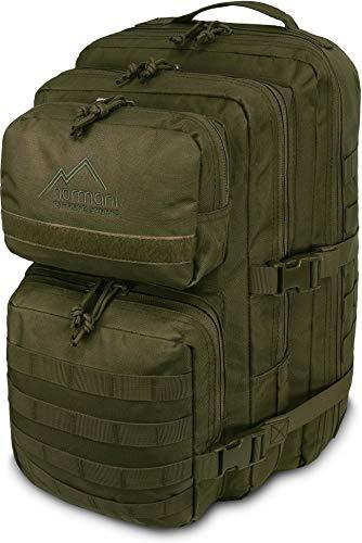 normani US Assault Cooper Pack Large Rucksack im Military Style Farbe Oliv Größe 30 Liter