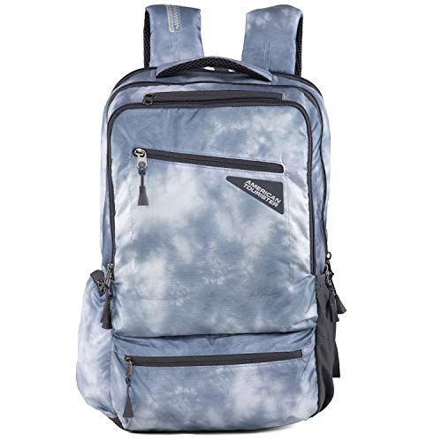 American Tourister 25 Ltrs Blue Laptop Backpack (GH4 (0) 88 001)