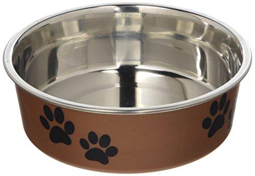 Loving Pets Métalliques Bella Bol pour Chiens, Petit, Cuivre, 350 ML
