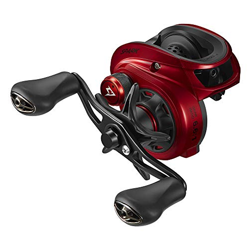 Piscifun Spark 6.6:1 Baitcasting Fishing Reel Super Compact, 16.5 LB Carbon Fiber Drag, Magnetic Brake System Low Profile Baitcaster Reel Right Handed