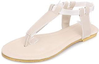 JOYBI Womens Platform Sandals Sweet Thin Straps Elastic Band Flexible Comfy Gladiator Sandal