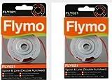 Flymo FLY021 Bobine et fil pour coupe-bordures Automatique Double fil 2 mm (Import...