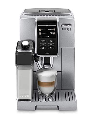 De'Longhi DeLonghi Ecam, automatische Kombi-Kaffeemaschine, 370.95.S, freie Installation, Silber