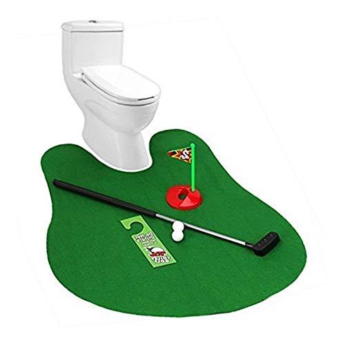 Trifycore Toilette Golf Mat Potty Putter Golf Toilettes Jeu Mini Set Golf Simulator pour New Potty...