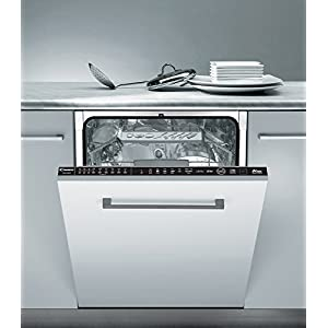 Candy CDIM 5146 Fully Built-in 16place settings A++ Dishwasher (Fully built-in, Full Size (60 cm), Black, Buttons, Condensation, 16 Cutlery)