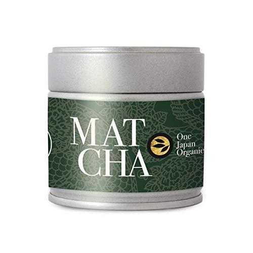 """One"" Premium Matcha Grado Ceremonial Organico - 1st Flush aus Kirishima, Japon | Polvo de Te Verde Bio (30g Lata) por alveus Premium Teas"