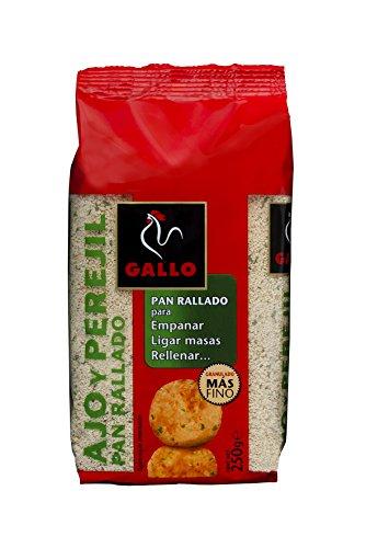 Gallo - Pan Rallado con ajo y perejil Paquete - 250 grs
