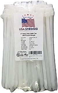 USA Strong Cable Ties. Premium 9