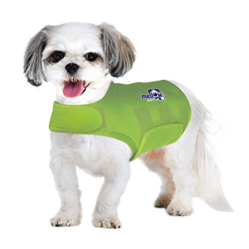 Mellow Shirt Dog Anxiety Calming Wrap, Small, Lime