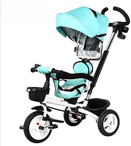 Cochecito de bebé for el recién nacido, Triciclo Niños carretilla plegable de la carretilla de bebé / 1-6 años de edad, Bicicleta / bici del bebé del carro de bebé del cochecito de bebé BICICLETA
