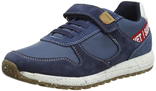 Geox J ALBEN Boy D, Zapatillas, Azul Marino, 32 EU
