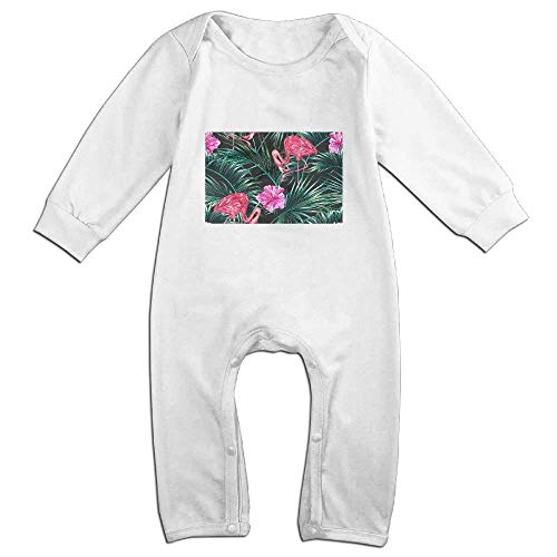 SDGSS Ropa para bebés Tropical Palm Leaves Baby Girl Boy Crawling Cartoon Baby