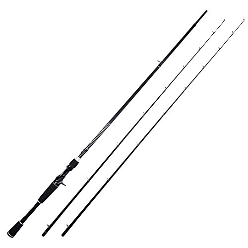 KastKing Perigee II Fishing Rods, Casting Rod Twin-tip 7ft -M and MH-Fast(2Tips+1 Butt Section)
