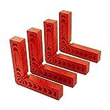TONGXU 4PCS 10x10 cm Cuadrados de Posicionamiento...