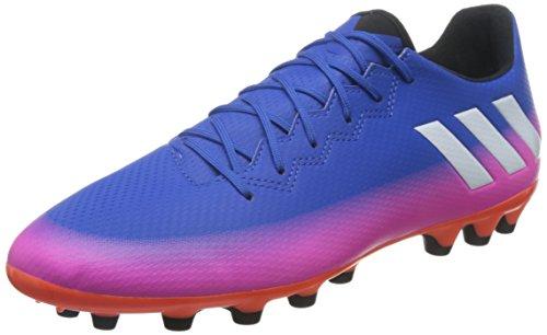 Adidas Messi 16.3 AG, Botas de fútbol Hombre, Azul (Azul/(Azul/Ftwbla/Narsol) 000), 44 2/3 EU