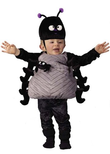 Disfraz de Halloween araña peluche bebé