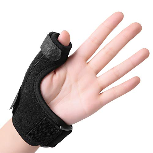 Handgelenkschiene daumenbandage Daumenschiene, Daumen Bandage für Daumensattelgelenk, flexibel Daumenbandage Handgelenkbandage Orthese für Verstauchung (Rechts)