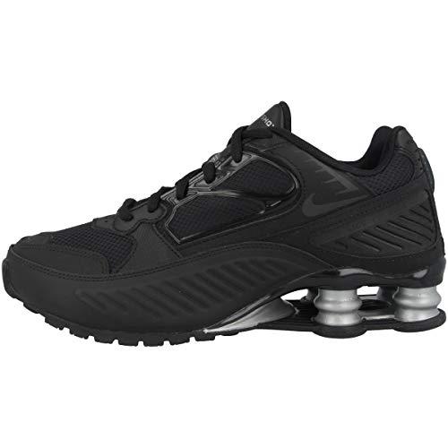 Nike - Sneaker da donna Low Shox Enigma, Nero (Black Black Metallic Silver Bq9001 004.), 38 EU