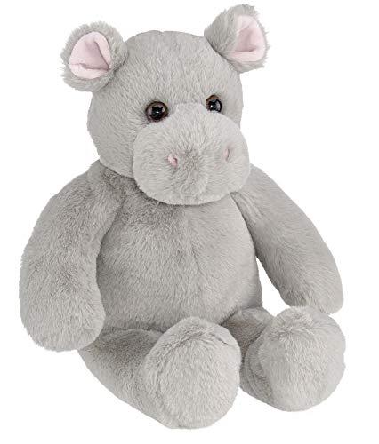 Bearington Humphry Soft Plush Hippo Stuffed Animal, 15 Inches