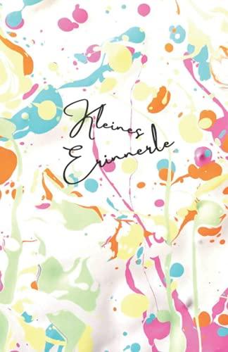 Kleines Erinnerle | Notizbuch A5 mit 100 Seiten / 50 Blatt | blanko von ErinnerleDesign [FlowerPowerCombo] als Bullet Journal, Tagebuch, Ideenbuch, Skizzenbuch