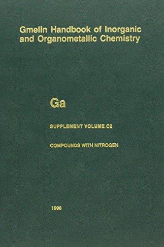 Gmelin Ga.Gallium (36) Suppl.Vol.C (closed) 2 (Gmelin Handbook of Inorganic and Organometallic Chemistry - 8th edition)