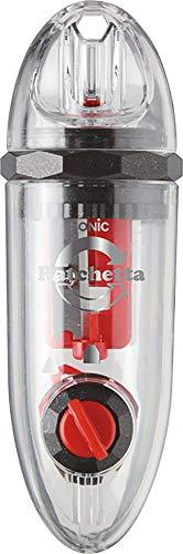 ソニック ラチェッタ カプセル ハンディ鉛筆削り レッド SK-878-R
