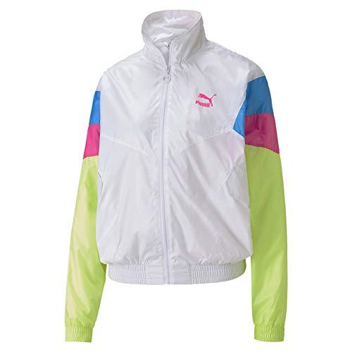 Puma TFS Track Jacket Woven Veste De Survêtement Femme Puma White FR : S (Taille Fabricant : S)