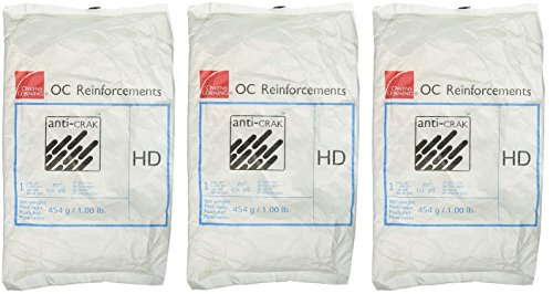 Bon 32-500 1 Pound Bag 3/4-Inch Anti-Crak Concrete Fibers (3, 3/4-Inch)
