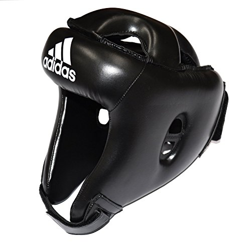 ADIDAS Kopfschutz, PU-Rookie-Kopfschutz, Schwarz, Größe XS/S, M, L, XL XSMALL/SMALL
