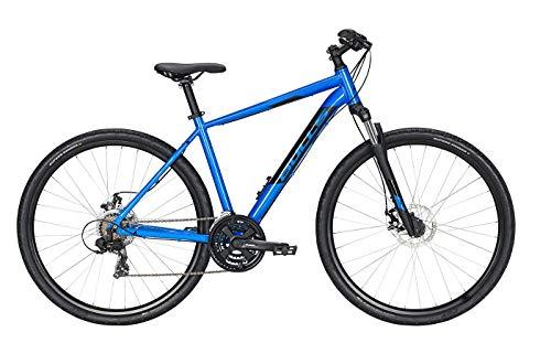 Bulls Wildcross Cross-Bike blau - Herren Fahrrad 28 Zoll - 21-Gang Kettenschaltung