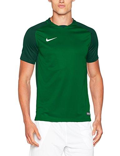 Nike Herren Trophy III Jersey Shortsleeve Trikot, Pine Green/Gorge Green/White, L