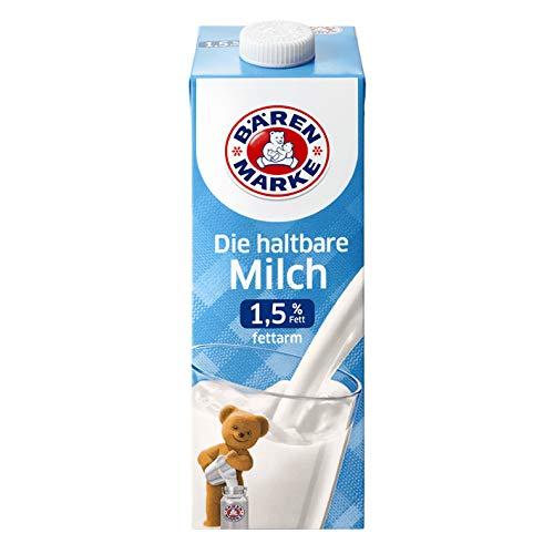 Bärenmarke fettarme H-Milch, 1,5% Fett, 1er Pack
