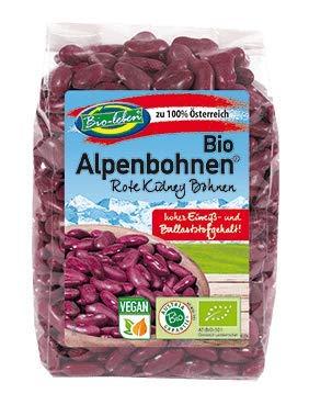 Bio Rote Bohnen 100% aus Österreich 1,75kg Öko österreichische Red-Kidney Bohnen extra Qualität 7x250g