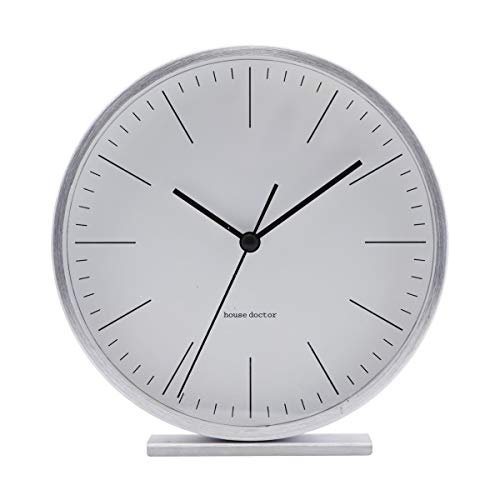 House Doctor Uhr, Hannah, Silber, Dm: 15 cm, Ea0701