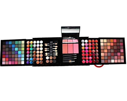 Shogpon 177 Couleurs Cosmétiques Fard à Paupières Maquillage Palette Kit avec Correcteur, Fards à Joues, Poudres pour le Visage, Brillant à lèvres et Poudres de Sourcils