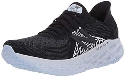 New Balance Women's Fresh Foam 1080 V10 Running Shoe, Black/Outerspace, 9.5 W US