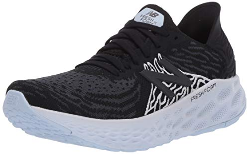New Balance Women's Fresh Foam 1080 V10 Running Shoe, Black/Outerspace, 9.5 W US