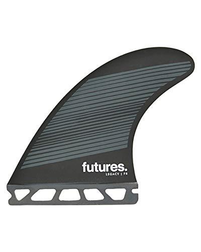 Futures F8 Legacy Quad Fin Set Gris/Negro
