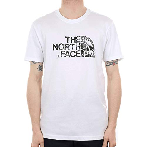 The North Face T0A3G1LA9. L Pull sans Manche Homme, Bleu (Tnf White/Tnf Black), Large