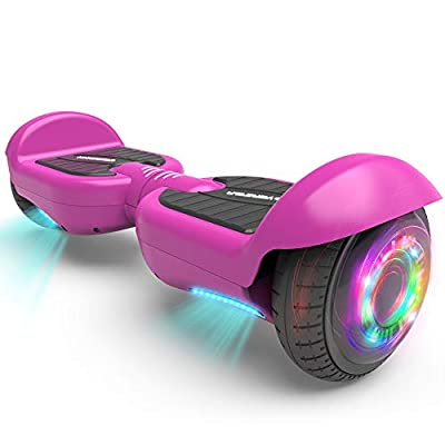 HOVERSTAR All-New HS 2.0v Hoverboard Matt Color Two-Wheel Self Balancing Flash Wheel Electric Scooter (Purple)
