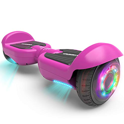 HOVERSTAR All-New HS2.0 Hoverboard Two-Wheel Self Balancing Flash Wheel Electric Scooter (Matt Purple)