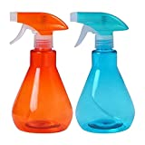 2pc plastic watering cans, garden plants, indoor plants, adjustable nozzles, watering plastic spray bottles, pressure spray cans, home and office (2 for 1 sell)