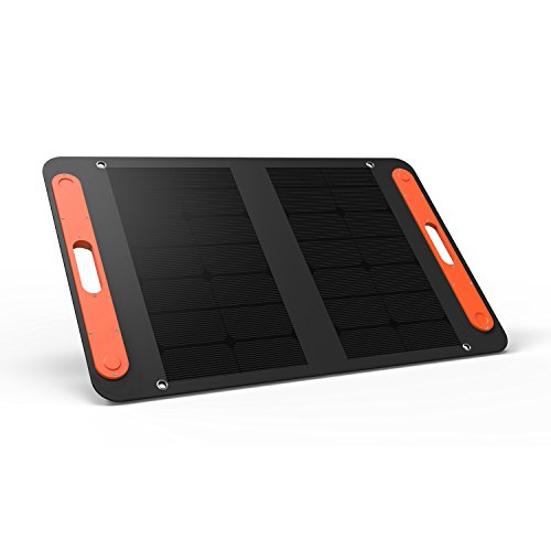 Jackery Explorer 50W Solar Panel for Explorer 240 and Explorer 160 as Portable Solar Generator, Portable Foldable Solar Charger USB C Output for Summer Vacation Camping