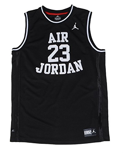 Nike Air Jordan Boys Classic Jersey Black Small 8